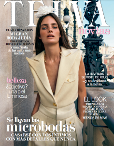 portada revista telva novias noviembre otoño invierno 2020 chaleco pantalon paloma lajud