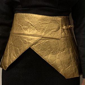 cinturon fajin dorado